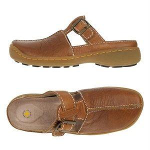 DR. MARTENS Slip On Mule Sandals Clogs Brown 8